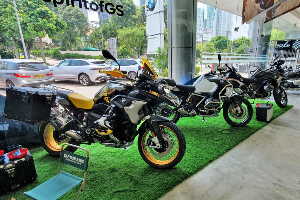 2021 BMW R 1250 GS adventure motorcycle updated and on sale in Singapore